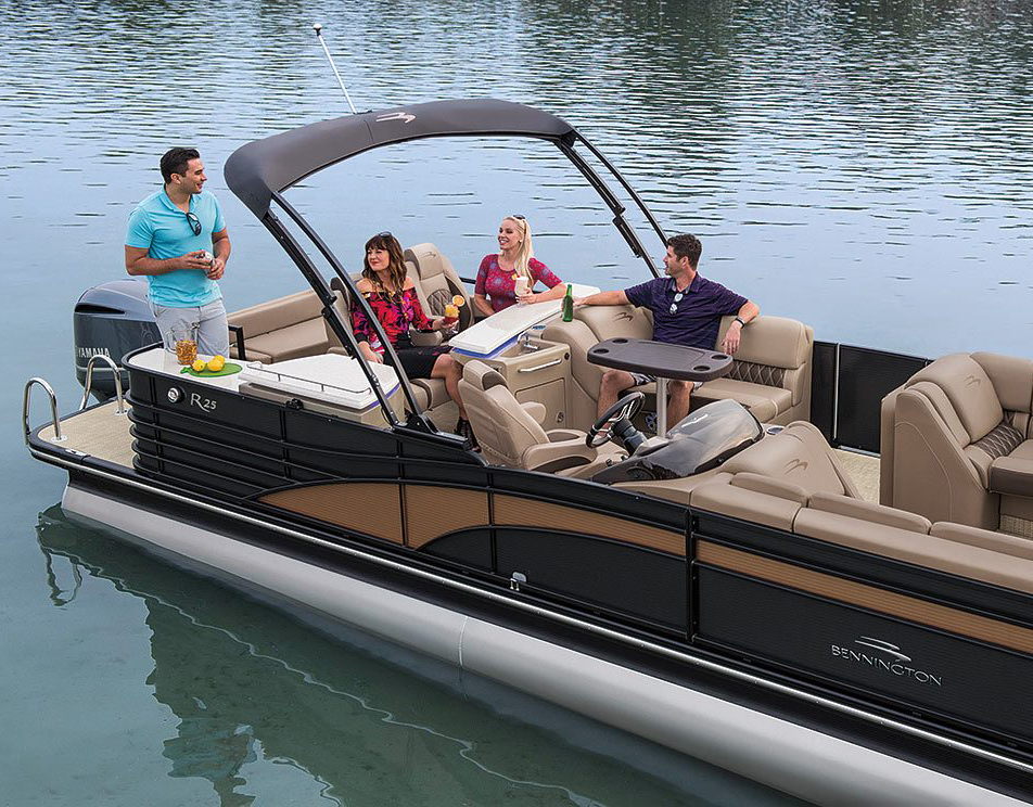 Tritoon For Sale >> Pontoon Boats For Sale In Maine
