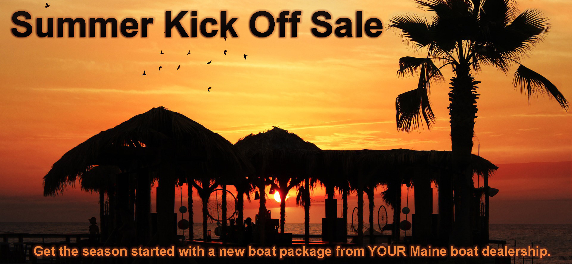 Summer Kickoff Boat Sale